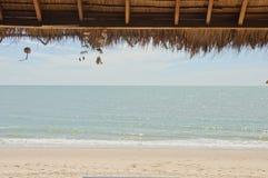 chałupy morze obrazy stock