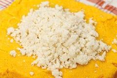 chałupy serowa polenta Fotografia Stock