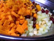 Chaat della frutta Immagine Stock