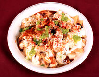 Chaat papri Royalty Free Stock Photo