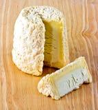 Chabichou du Poitou Cheese van Frankrijk Stock Foto's