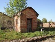 Chabola que cruza abandonada Fotografía de archivo libre de regalías