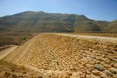 Chabrouh fördämning, Libanon. Arkivbilder