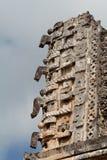 chac Мексика uxmal yucatan Стоковое Изображение
