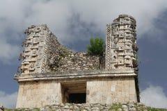 Chac Masks Uxmal Maya Site Royalty Free Stock Images