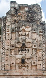 Chac Mayan Rain God in Uxmal Yucatan Mexico Stock Photography