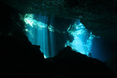 Chac-Mool Cenote Stock Photos