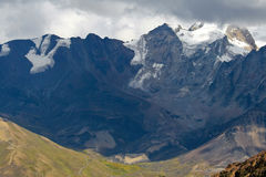 Chacaltaya Range, Bolivia Royalty Free Stock Photography