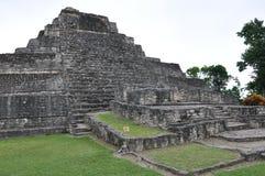 chacchoben majskie ruiny zdjęcia royalty free
