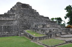 Chacchoben Mayan Ruins royalty free stock photos