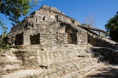 Chacchoben Mayan Ruins F Stock Photo