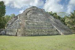 CHACCHOBEN RUINS COSTA MAYA MEXICO stock images