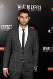 Chace Crawford arrives at the  Royalty Free Stock Image