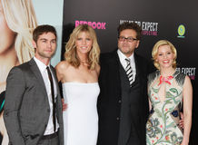 Chace Crawford,Brooklyn Decker,Kirk Jones,E.Banks Royalty Free Stock Photos