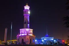 Chacha tower and Batuni sea port in Batumi Royalty Free Stock Photo