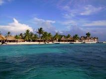Chachahuate ö, Honduras Arkivfoton