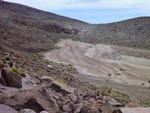 Chachani de nevado de volcan au-dessus d'Arequipa Photos libres de droits
