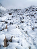 Chachani snöig maximum Arkivbild