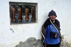 Chachapoyas - Перу стоковое фото