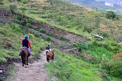 Chachapoyas -秘鲁 图库摄影