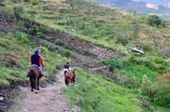 Chachapoyas - le Pérou Photographie stock