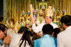 ChaChengSal TAJLANDIA, Maj, - 8 2014: Niezidentyfikowani nauczyciele i pu Zdjęcia Stock