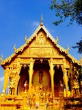 Chacheongchao,泰国8月23日2014年:佛教图象和宗教 免版税库存照片