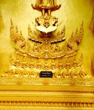Chacheongchao, Tailândia 23 de agosto de 2014: Imagem e religião do budismo Foto de Stock