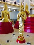 Chacheongchao, Thailand-August 23, 2014:Buddhism image and religion Royalty Free Stock Photo