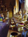 Chacheongchao, Thailand-August 23, 2014:Buddhism image and religion Royalty Free Stock Images