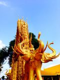 Chacheongchao, Thailand 23. August 2014: Buddhismusbild und -religion Stockfotos