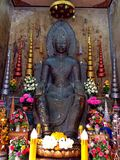 Chacheongchao Thailand-Augusti 23, 2014: Buddismbild och religion Royaltyfria Bilder