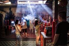 Chacheongsao Таиланд - december14,2014: неопознанный st людей стоковое фото