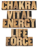Chackra, vital energy, life force Stock Photo