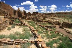 Chaco峡谷 库存照片