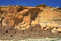 Chaco峡谷 免版税图库摄影