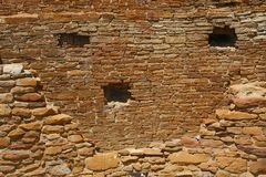 Chaco峡谷 库存图片