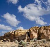chaco文化历史国家公园 免版税库存照片