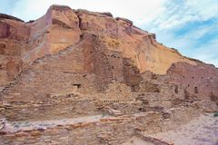 chaco文化废墟 免版税库存照片
