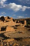 chaco文化有历史的国家站点 免版税图库摄影