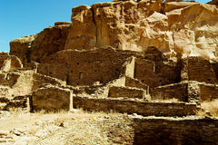 Chaco Canyon Royalty Free Stock Photo