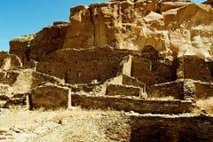 Chaco Canyon. A view of Chaco Canyon Ruins Royalty Free Stock Photo