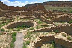 Chaco canyon Royalty Free Stock Photos