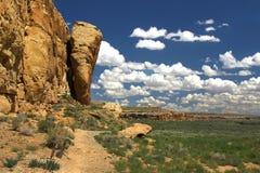 Chaco canyon Royalty Free Stock Photo