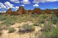 Chaco canyon Royalty Free Stock Image
