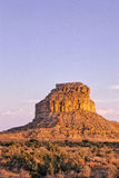 Chaco Canyon Butte 2 Royalty Free Stock Photos