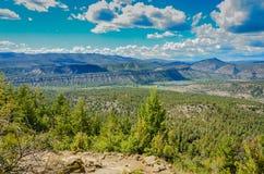 Chaco Canyon - Chimney Rock National Monument Stock Photo