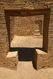 Chaco canyon doors Stock Image
