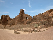 Chaco Canyon, N.M. Royalty Free Stock Images