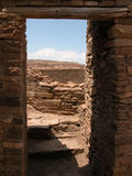 Chaco Canyon, N.M. Royalty Free Stock Photo